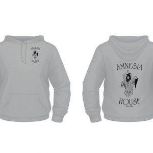 Amnesia House - Grey Hoodie