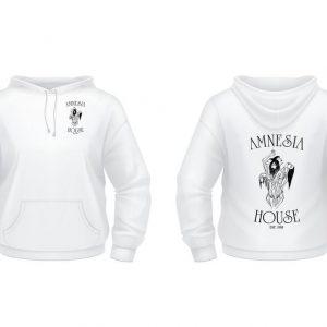 Amnesia House - White Hoodie