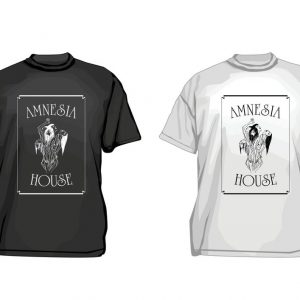 Amnesia House - Logo in Box - T-Shirt
