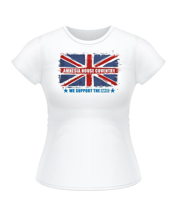 Ladies T-Shirt - We Support The NHS