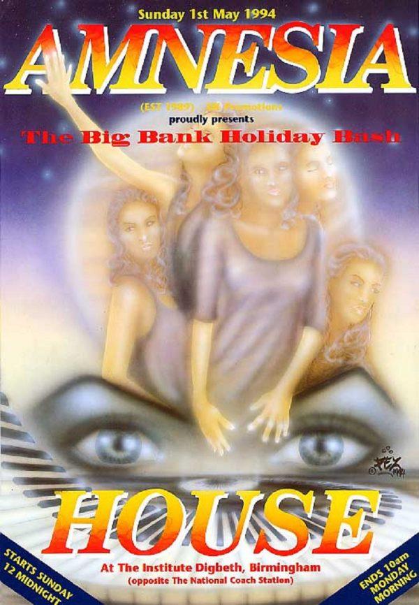 Amnesia House - The Big Holiday Bash 1994