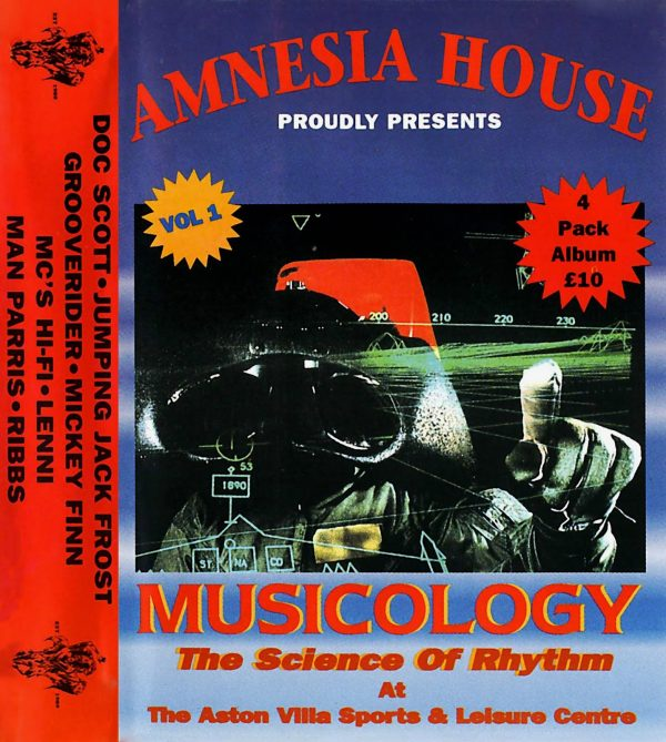 Amnesia House - Musicology 1994